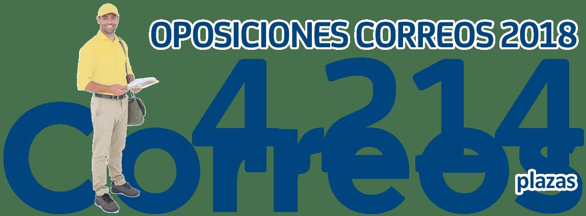 Correeos España 4214 plazas para 2018